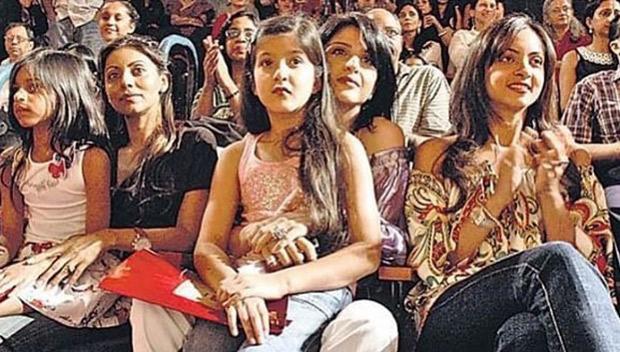 Way back Wednesday Young Suhana Khan and Shanaya Kapoor look cute in this throwback image