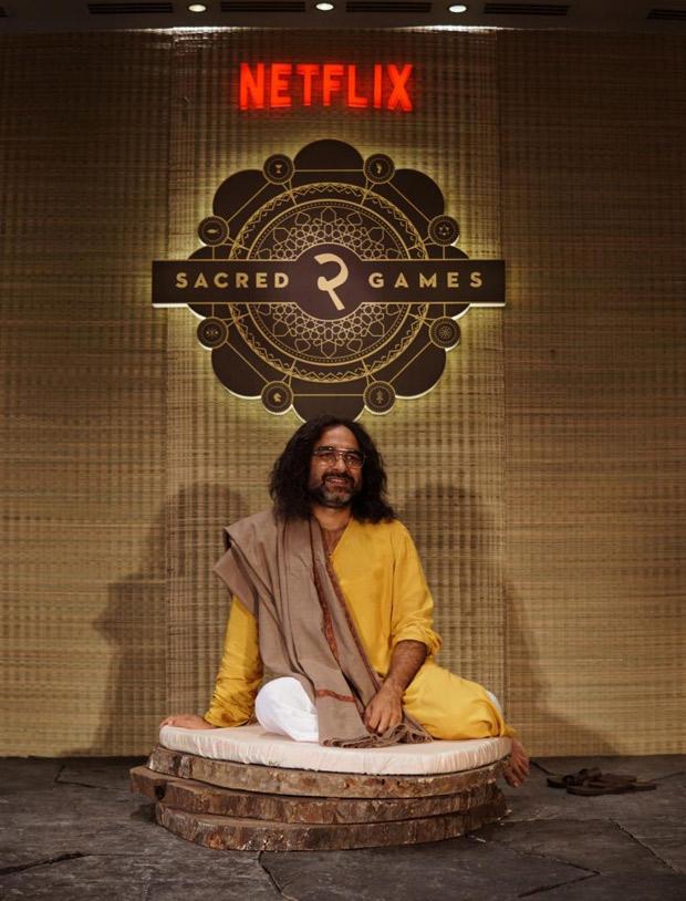 With 14 days to go for Sacred Games 2, Guruji Pankaj Tripathi makes a mysterious appearance