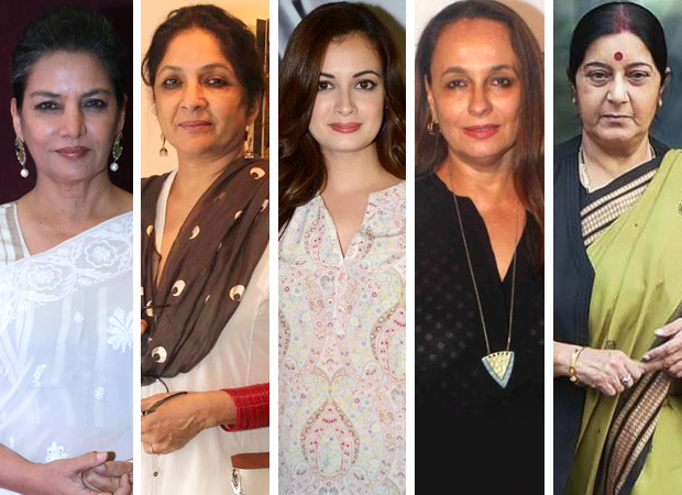 Women from Indian cinema pay their respects to Sushma Swaraj