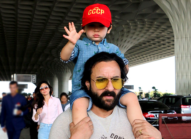 Here's what Saif Ali Khan has to say about Taimur Ali Khan making appearance in films