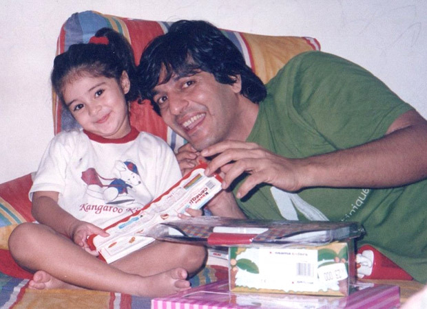 Ananya Panday wishes Chunky Panday on his birthday with some adorable throwback pictures!