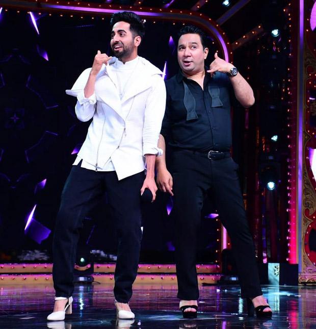 Video: Ayushmann Khurrana Wears High Heels To Dance On The Sets Of Nach Baliye