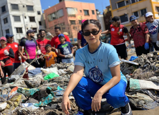 Bhumi Pednekar joins hands with Afroz Shah for Versova Beach Cleanup