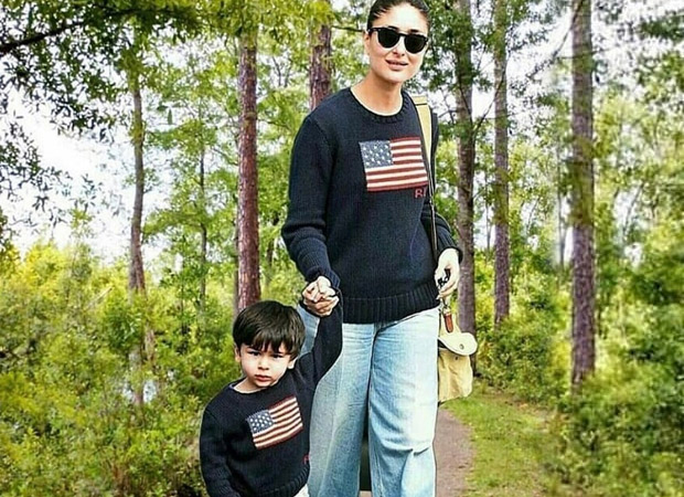 Kareena Kapoor Khan Twins With Son Taimur Ali Khan On Their Day Out