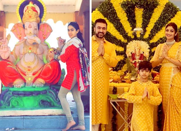 Ganesh Chaturthi 2019: Sara Ali Khan, Shilpa Shetty, Katrina Kaif, Shraddha Kapoor and others celebrate the arrival of Ganpati Bappa