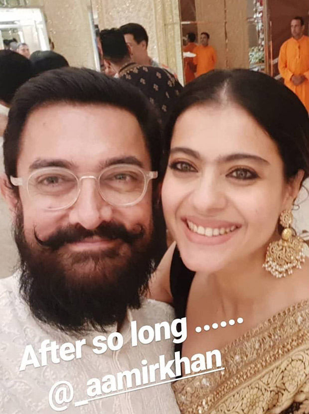 Photo Alert: Fanaa Stars Aamir Khan And Kajol Reunite After Ages During Ganesh Chaturthi Celebrations