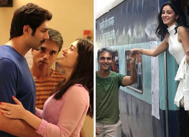 Pati Patni Aur Woh Stars Kartik Aaryan, Bhumi Pednekar And Ananya Panday Celebrate Director Mudassar Aziz' Birthday With Set Photos