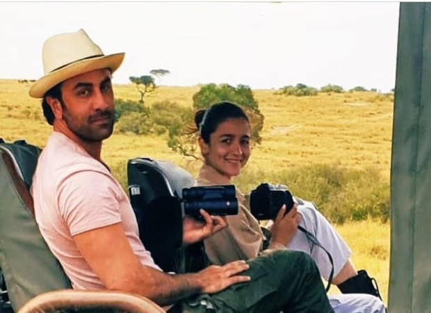 Ranbir Kapoor And Alia Bhatt Pose For Pictures While On A Safari In Africa