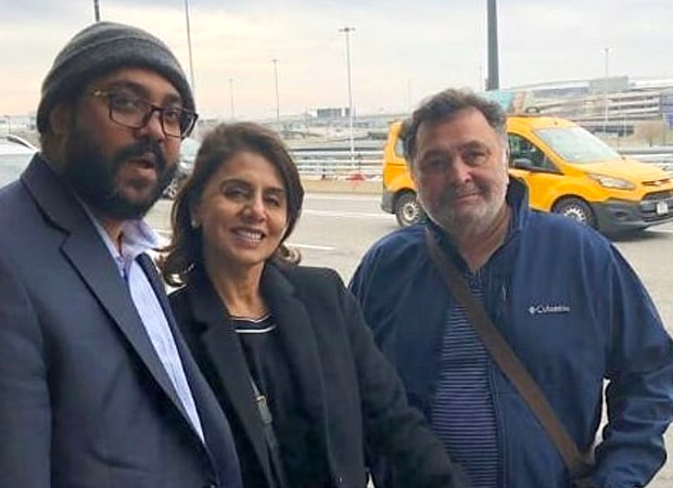 Rishi Kapoor and Neetu Kapoor FINALLY leave for Mumbai after being away for 11 months
