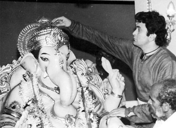 Rishi Kapoor Gets Homesick, Shares A Throwback Picture As He Misses Celebrating Ganesh Chaturthi Back Home