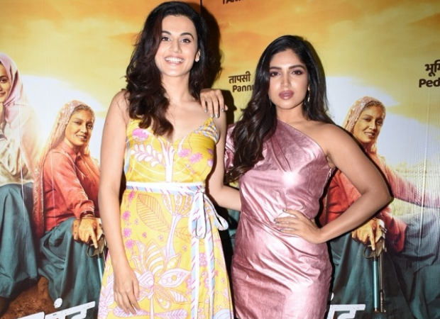 Saand Ki Aankh Stars Taapsee Pannu And Bhumi Pednekar Define The Tandem Spirit In Their Twitter Conversation