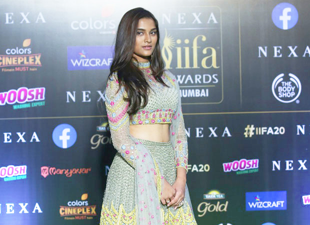 Saiee Manjrekar makes a stunning first appearance at IIFA alongside superstar Salman Khan; see photos