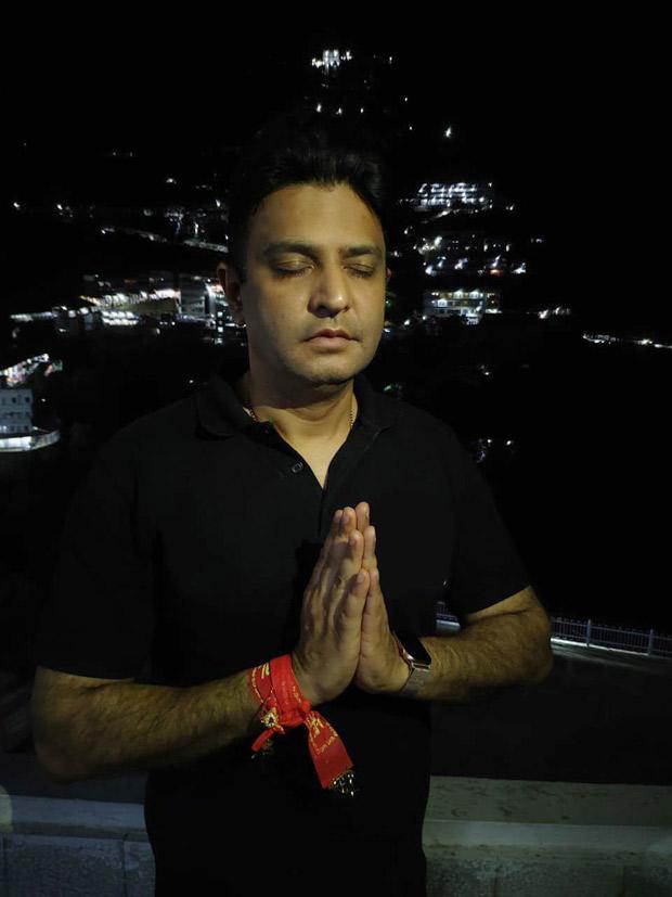 T-series Head Honcho Bhushan Kumar And Team Visit Vaishnodevi To Offer Thanks