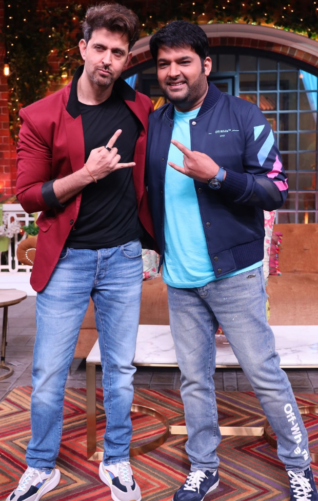 The Kapil Sharma Show: Hrithik Roshan Makes Kapil Groove To The Beats Of 'ghungroo' From War