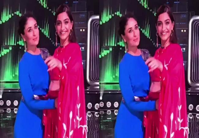 Video: Kareena Kapoor Khan And Sonam Kapoor Ahuja Groove To The Tunes Of 'tareefan'!