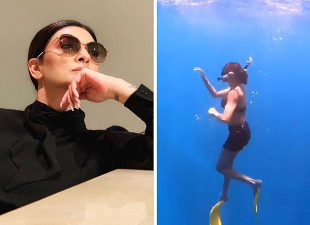 Video: Sushmita Sen Learns To Skin Dive At 43!