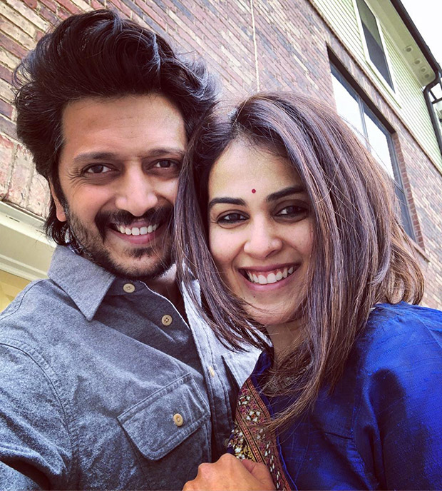 Watch: Riteish Deshmukh And Wife Genelia D'souza Indulge In Some Mushy Pda