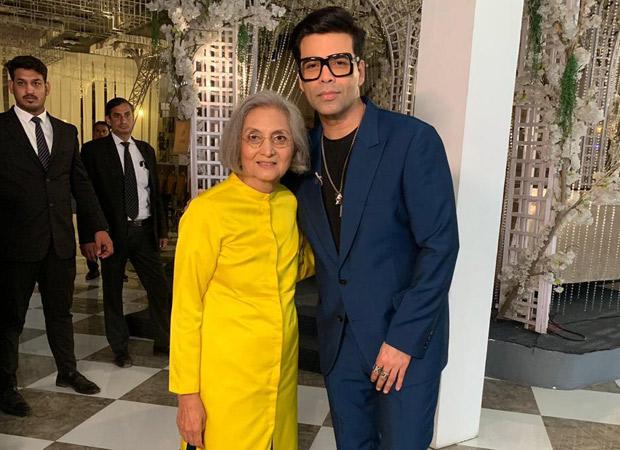 Karan Johar And Ma Sheela Anand Indulge In A Conversation In Delhi