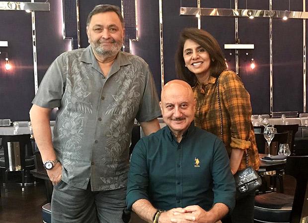 Anupam Kher Sends Best Wishes As Rishi Kapoor And Neetu Kapoor Head Home
