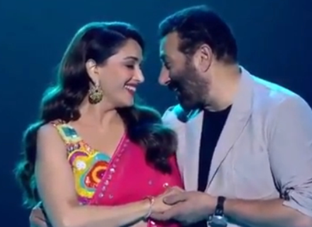 Watch: Sunny Deol And Madhuri Dixit Recreate Their Iconic Tridev Track