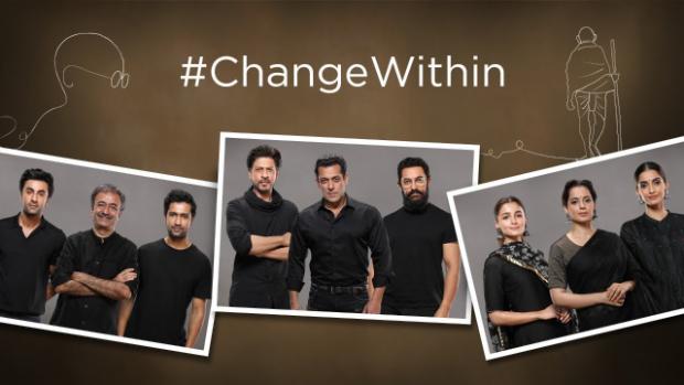 150 Years Of Celebrating The Mahatma: Shah Rukh Khan, Salman Khan, Aamir Khan, Ranbir Kapoor Recite Bapu's Teachings In Rajkumar Hirani Directed Video