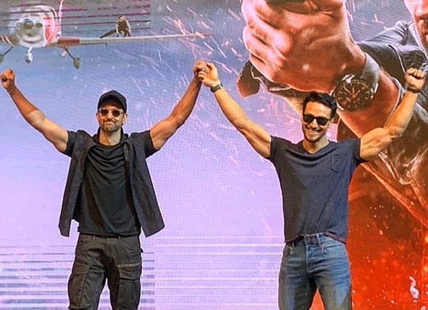 Check out Tiger Shroff 'bothering' Hrithik Roshan on his day off during WAR shoot