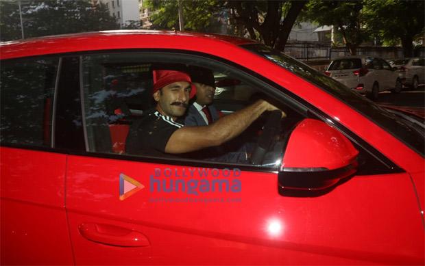 Hot Wheels! Ranveer Singh Gets A New Lamborghini Worth Around Rs. 3 Crore!