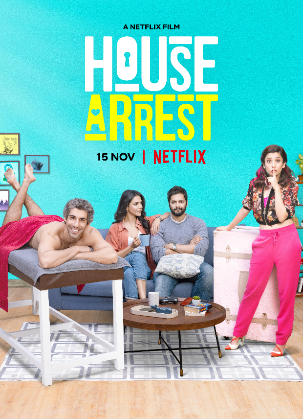 Here's How House Arrest Cast Ali Fazal, Jim Sarbh, Shriya Philgaokar And Barkha Singh Bonded On The Sets Of Their Netflix Film