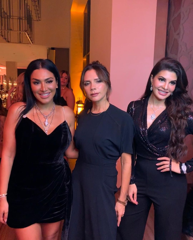 Jacqueline Fernandez Hangs Out With Victoria Beckham And Huda Kattan In Dubai