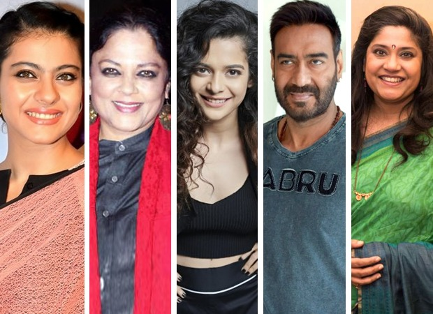 Kajol, Tanvi Azmi and Mithila Palkar to star in Ajay Devgn's Netflix film Tribhanga, to be directed by Renuka Shahane