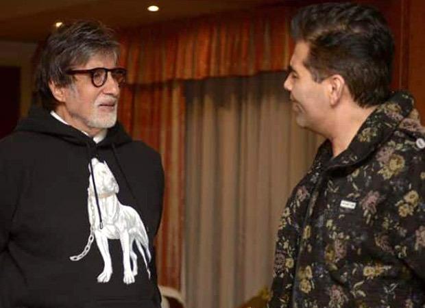 Karan Johar Pens Heartfelt Note On Amitabh Bachchan's Birthday