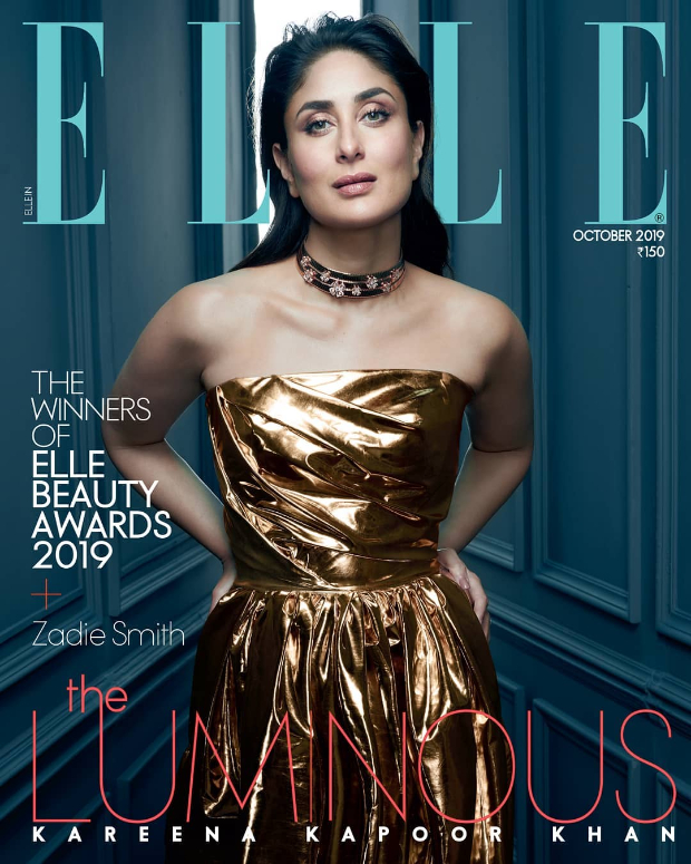 Lo' and Behold! Kareena Kapoor Khan dazzles in stunning metallic gown on Elle India cover