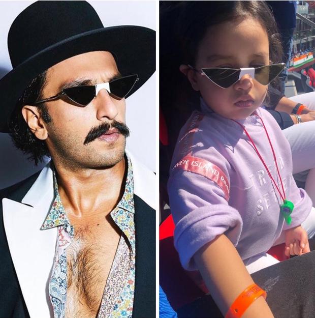 Ms Dhoni's Daughter Ziva Dhoni Wonders Why Ranveer Singh Is Wearing Her Shades