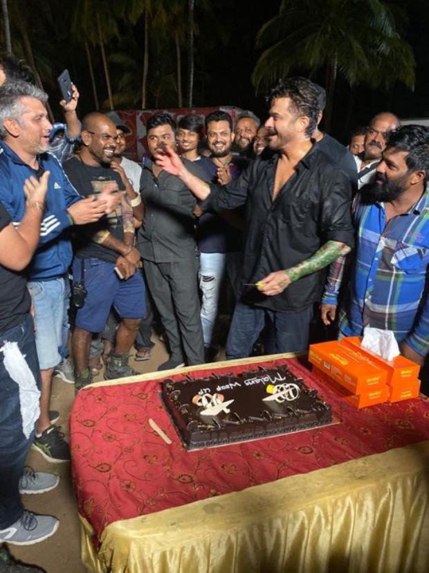 Malang: Anil Kapoor Enjoys 'dark Chocolate On Dark Night' After The Wrapping Up Mohit Suri's Film