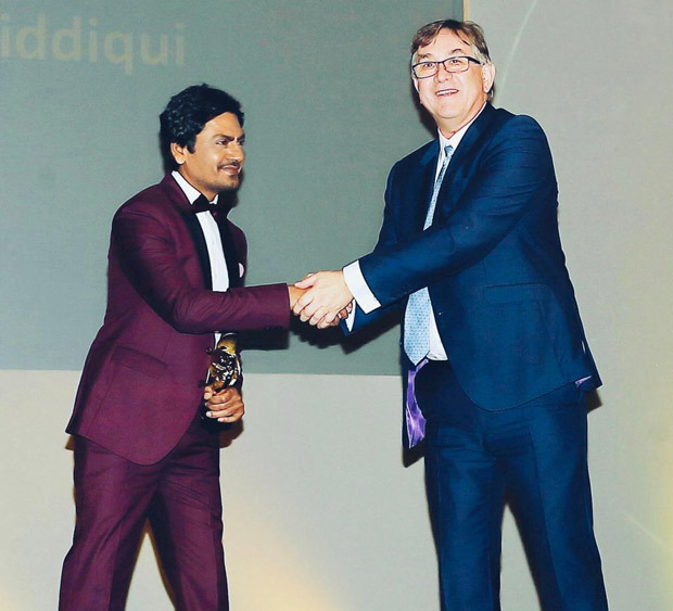 Nawazuddin Siddiqui Honoured With The Golden Dragon Award At Cardiff International Film Festival