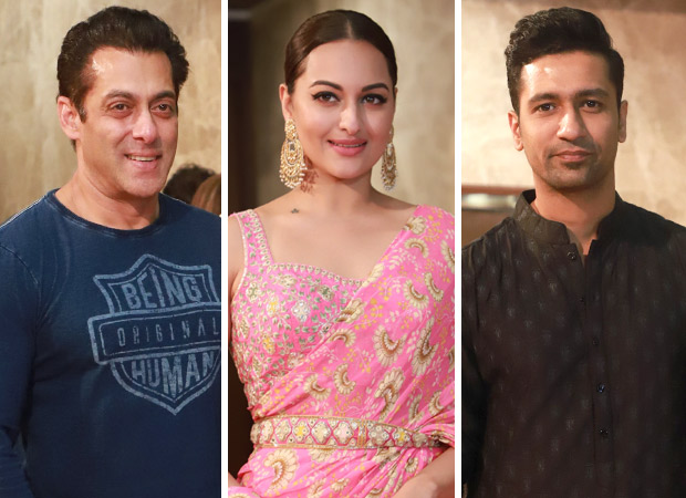 Ramesh Taurani's Diwali Bash: Salman Khan, Sonakshi Sinha, Vicky Kaushal And Others Grace The Night