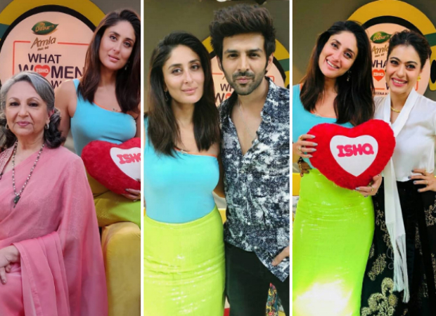 PHOTOS: Kareena Kapoor Khan comes together with Sharmila Tagore, Kartik Aaryan and Kajol to chat about What Women Want