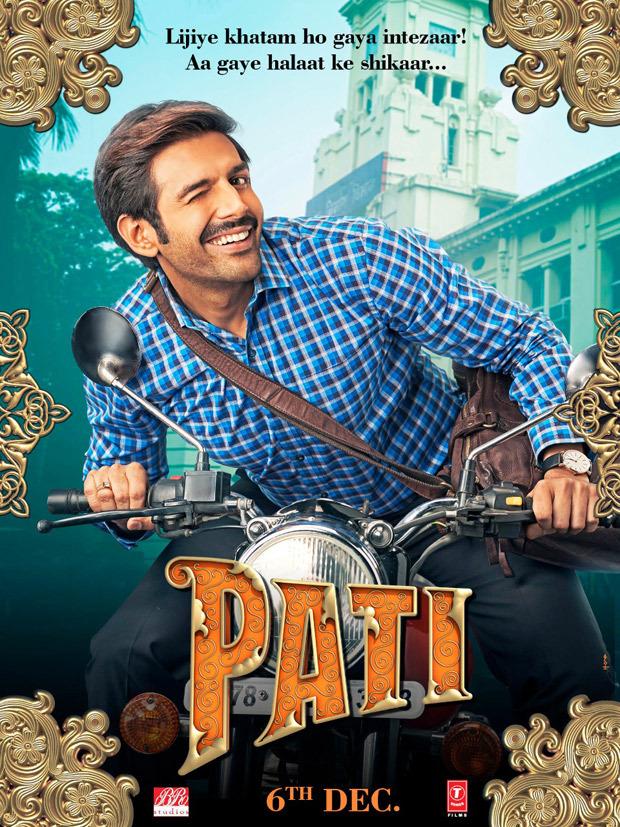 Poster Out! Meet Chintu Tyagi Aka Kartik Aaryan From Pati Patni Aur Woh