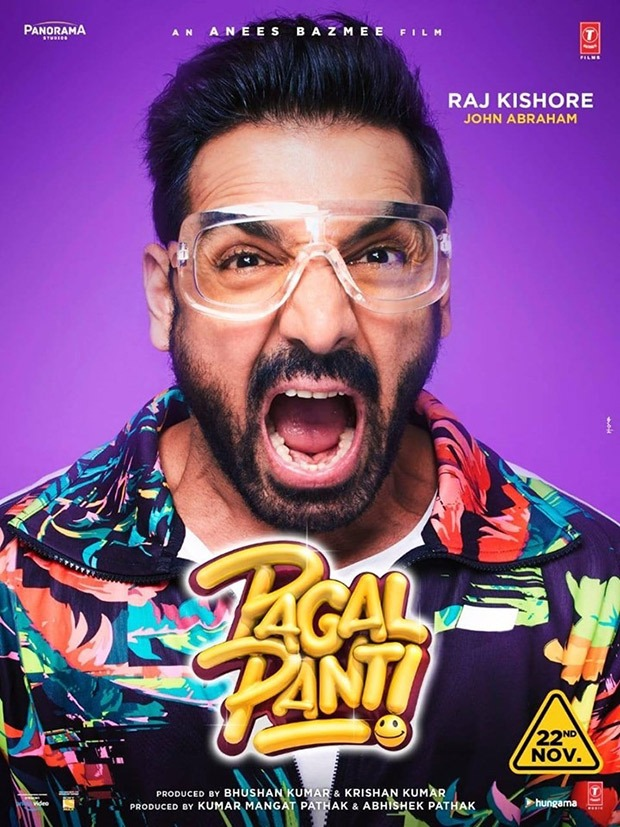 Pagalpanti: John Abraham, Anil Kapoor, Ileana D'cruz And Others Unveil Their Crazy First Look Posters