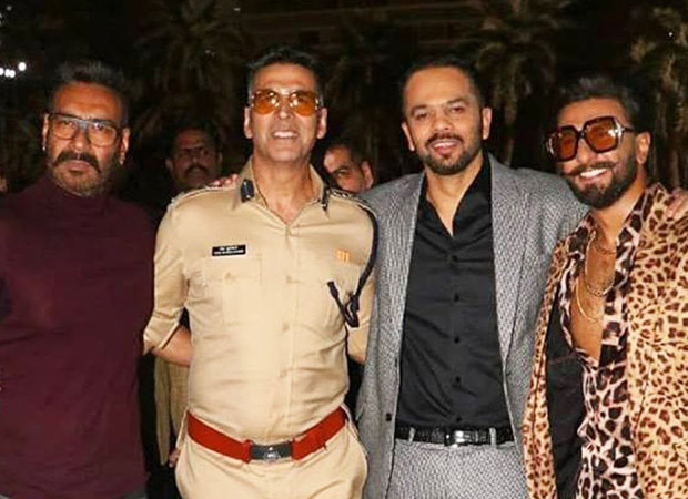 Ranveer Singh heads to Hyderabad to shoot the finale of Sooryavanshi with Akshay Kumar & Ajay Devgn