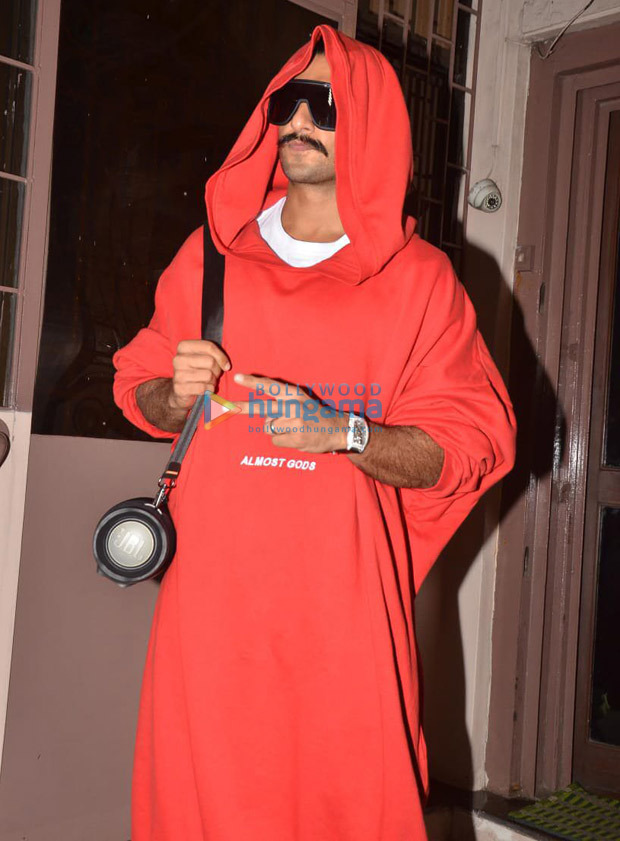 Ranveer Singh Makes Another Fashion Statement, Takes Oversized Sweatshirt To Another Level