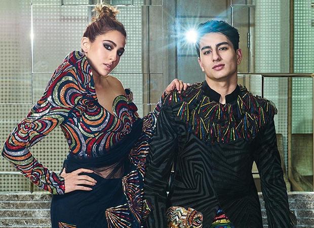 SIBLING LOVE Sara Ali Khan and Ibrahim Ali Khan look aesthetic on the cover of Hello Magazine