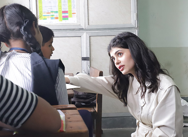 Sanjana Sanghi reveals her hopes and dreams to commemorate a decade of Teach For India's services