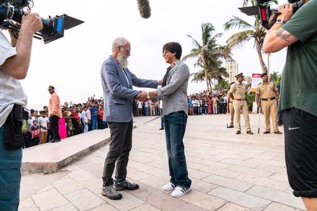 Shah Rukh Khan is his witty self in the teaser of My Next Guest with David Letterman