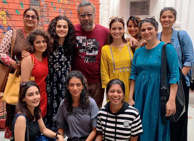 Taapsee Pannu and Dia Mirza wrap the shoot for Anubhav Sinha's Thappad on an emotional note