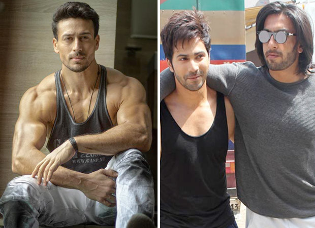 Tiger Shroff says he would never be able to do a comedy like Ranveer Singh and Varun Dhawan