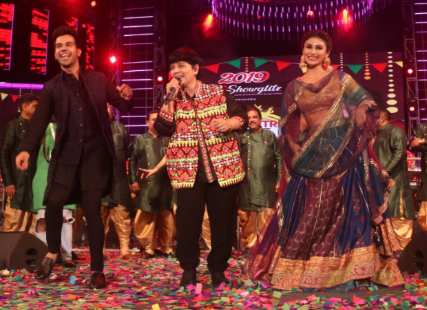 VIDEO: Made In China pair Rajkummar Rao and Mouni Roy groove to the beats of 'Sanedo' with Falguni Pathak