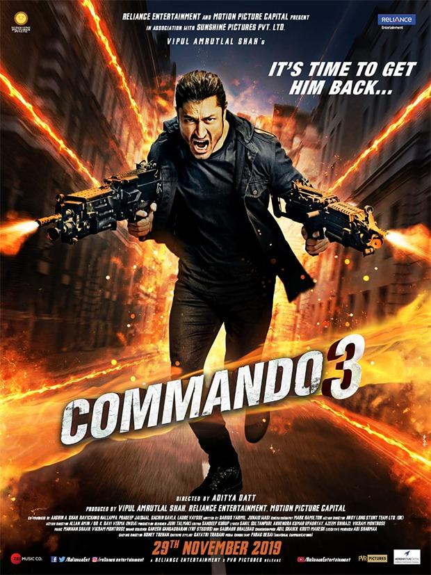Vidyut Jammwal starrer Commando 3 to release on November 29, 2019