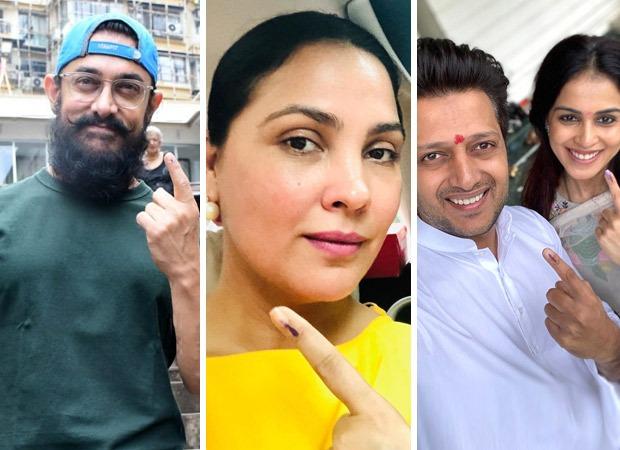 Maharashtra Assembly Election 2019: Aamir Khan, Lara Dutta, Riteish Deshmukh Cast Their Votes