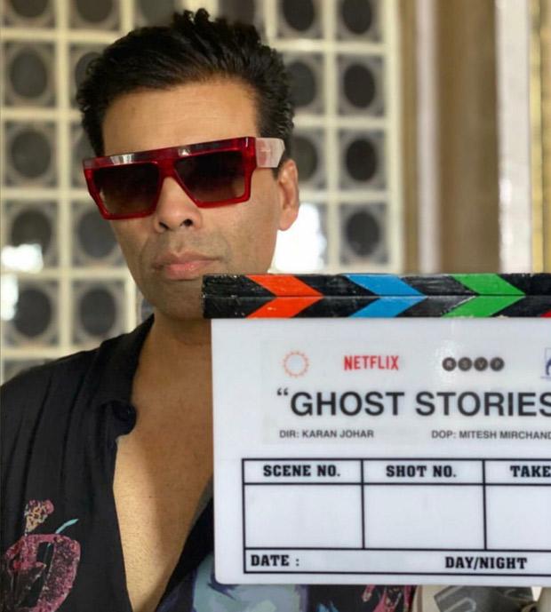 Karan Johar Begins Shooting For Ghost Stories In Goa